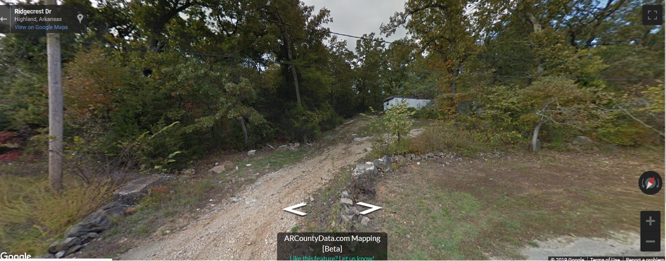 Beautiful vacant residential lot in Hardy, Ar- 1/4 acre at Wild Plum Lake !!