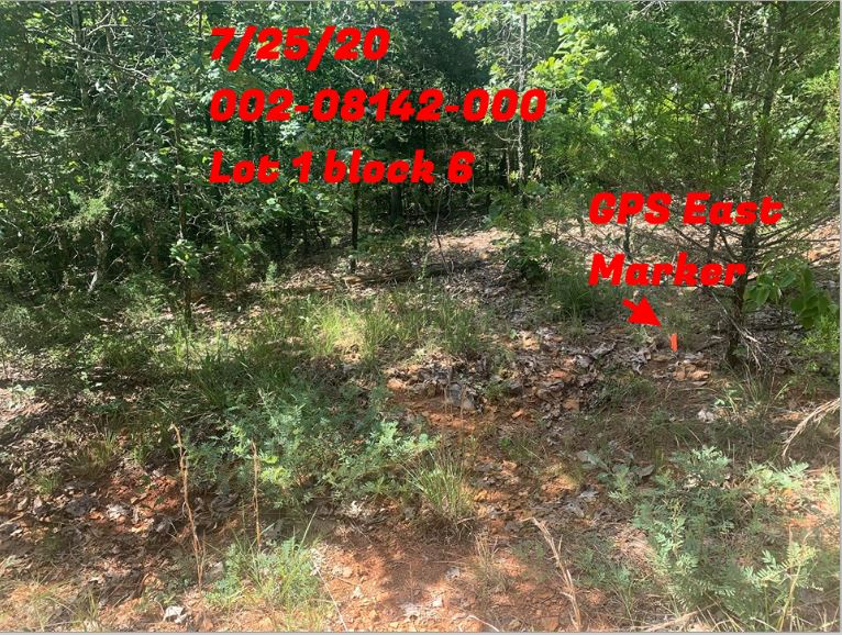 Newly acquired lot in Henderson, Ar great lot for your RV !