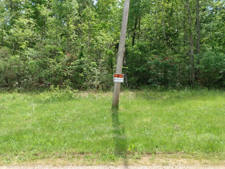 Mirandy Lake Sharp County, Ar-residential zoned lot 1 minute from lake-utilities-photos from 5/10/21
