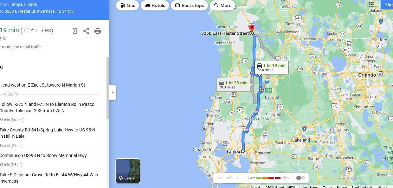 3260 map