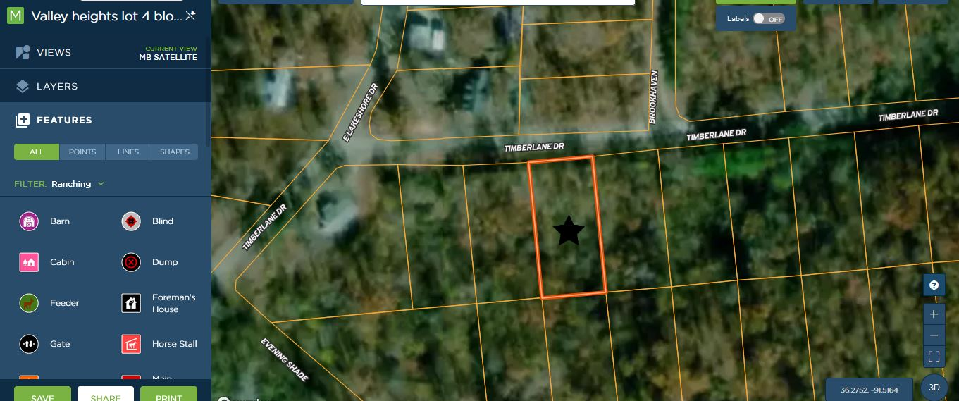 Sharp County-killer lot near lake for future home on paved road with utilities